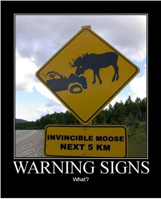 Invincible Moose... next 5 KM