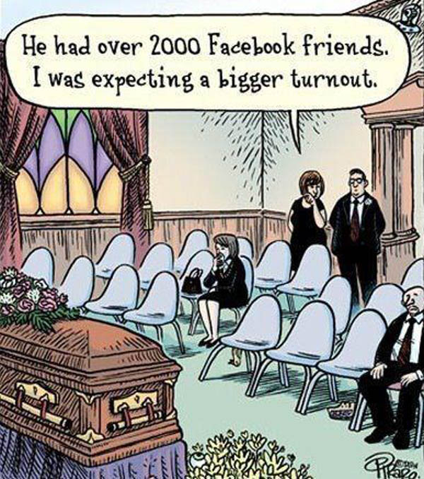 He had over 200 Facebook friends?