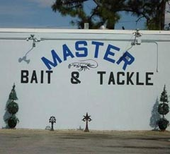 Master Bait and Tackle... nice name for a company.