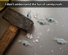 I don't understand Candy Crush...