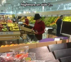 Nightmare on Aisle 3